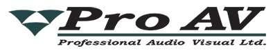 Logo for Pro AV
