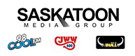 Logos for companies in the Saskatoon Media Group