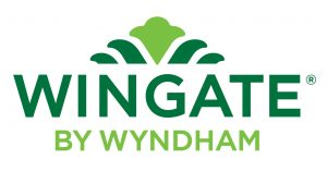 Logo for Wingate by Wyndham hotels