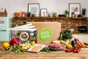 Image of HelloFresh meal kit